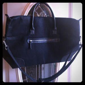 DSW Exclusive Felt Weekender Bag New!